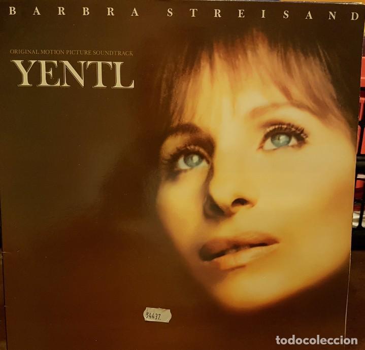 BARBRA STREISAND - YENTL - ORIGINAL MOTTION PICTURE SOUNDTRACK - CARPETA ABIERTA (Música - Discos - LP Vinilo - Bandas Sonoras y Música de Actores )