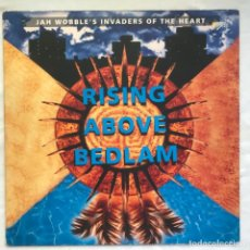 Discos de vinilo: JAH WOBBLE'S INVADERS OF THE HEART RISING ABOVE BEDLAM. Lote 206941585