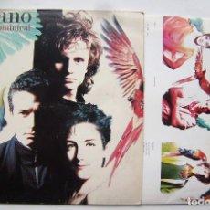 Discos de vinil: MECANO. DESCANSO DOMINICAL. LP.. Lote 206941960