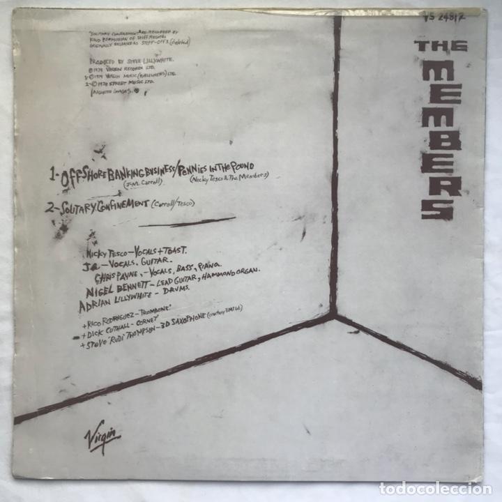 Discos de vinilo: The Members – Offshore Banking Business 1979 - Foto 2 - 206942066