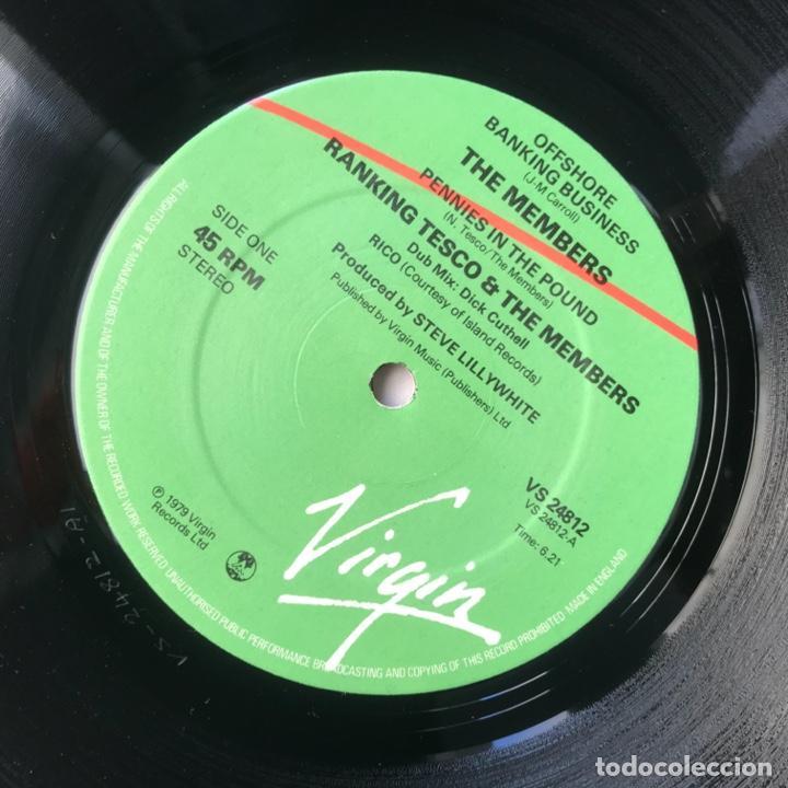 Discos de vinilo: The Members – Offshore Banking Business 1979 - Foto 5 - 206942066