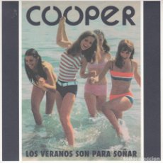 Discos de vinilo: COOPER - ENTRE GIRASOLES - DOLAR DE LA SUERTE - ELEFANT - 2014 FLECHAZOS. Lote 206944482