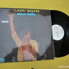 Discos de vinilo: LP CLAUDIO BAGLIONI - AMOR BELLO - SPAIN PRESS - PROMO - 1973 (EX+/EX++) Ç. Lote 206946956