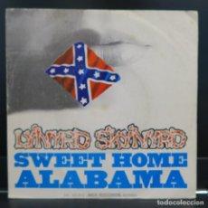Discos de vinilo: LYNYRD SKYNYRD SINGLE SWEET HOME ALABAMA 1974. Lote 206950161