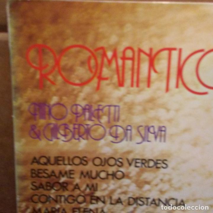 Discos de vinilo: ROMANTICO .NINO PALETTI Y GILBERTO DA SILVA -PORTADA SEXY COVER- - Foto 2 - 206955582