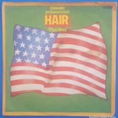 Discos de vinilo: SINGLE / IRISETTE PRÄSENTIERT HAIR, THE BED - AQUARIUS / 1969 ALEMANIA. Lote 206957440