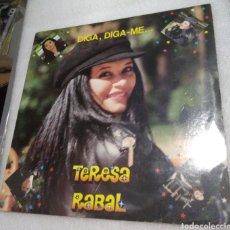 Discos de vinilo: TERESA RABAL - DIGA, DIGA ME. Lote 206961286