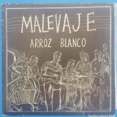 Discos de vinilo: SINGLE / MALEVAJE / ARROZ BLANCO - SIN SENTIDO / TRES CIPRESES 1987 PROMO. Lote 206961846