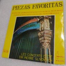 Discos de vinilo: PIEZAS FAVORITAS. RAPSODIA HÚNGARA ( LISZT ), MICHAEL LONESCO Y SU ORQUESTA ZÍNGARA,. Lote 206961883