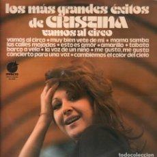 Discos de vinilo: LOS MAS GRANDES EXITOS DE CRISTINA - VAMOS AL CIRCO / LP IMPACTO DE 1976 RF-7858. Lote 206966646