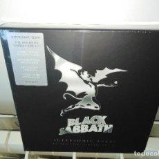 Discos de vinilo: BLACK SABBATH SUPERSONIC YEARS BOX SINGLES. Lote 206973036