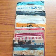 Discos de vinilo: ZVCOLEC.4 LOTE DE 23 DISCOS SINGLES. FABRICADOS EN INGLATERRA. Lote 206977413