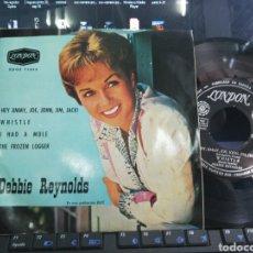 Discos de vinilo: DEBBIE REYNOLDS EP HEY JIMMY,JOE,JOHN,JIM,JACK! + 3 1963. Lote 206979557