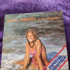 Discos de vinilo: RAFAEL MARTÍNEZ Y SU ORQUESTA, MUY ESCASO, VER, PETFECTO. Lote 206985426
