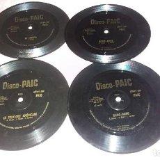 Discos de vinilo: 22 COLLECTION DISQUES FLEXI ( CHANSONS DE SHEILA,M.SARDOU,ADAMO,J.DASSIN,ETC) - VER FOTOS. Lote 206985455