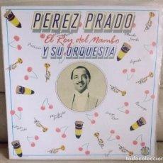 Discos de vinilo: LP PÉREZ PRADO, EL REY DEL MAMBO. Lote 206988831