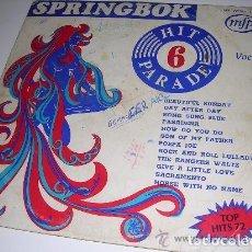 Discos de vinilo: LP SPRINGBOX HIT PARADE 6. Lote 206989261