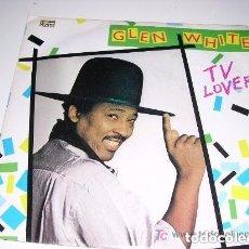 Discos de vinilo: GLEN WHITE TV LOVER SINGLE. Lote 206989325