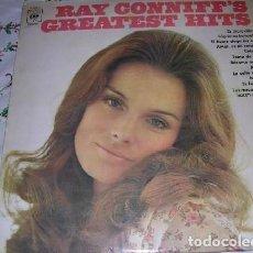Discos de vinilo: LP RAY CONNIFFS GREATEST HITS EDICIÓN ESPAÑOLA. Lote 206990265