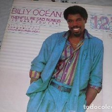 Discos de vinilo: BILLY OCEAN THERE'LL BE SAD SONGS LP. Lote 206990613