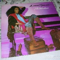 Discos de vinilo: DONNA SUMMER THE WANDERER LP. Lote 206990665