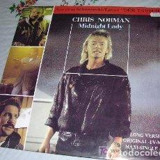 Discos de vinilo: CHRIS NORMAN MIDNIGHT LADY LP MAXI SINGLE. Lote 206990918