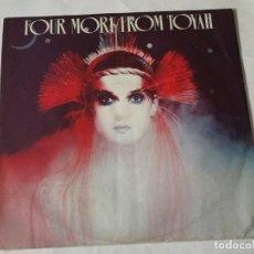 Discos de vinilo: TOYAH - FOUR MORE FROM TOYAH - 1981. Lote 206991005