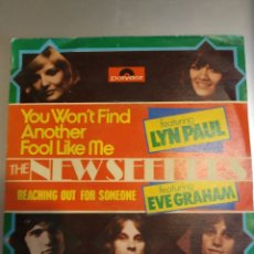 Discos de vinilo: THE NEW SEEKEERS.YOU WON'T FIND ANOTHER FOOL LIKE ME. Lote 206991173