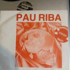 Discos de vinilo: PAU RIBA. MARGA MARGURA. PROMOCIONAL.. Lote 206992001