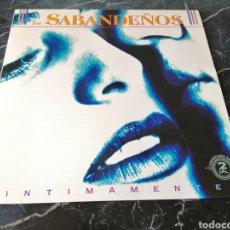 Discos de vinilo: INTIMAMENTE. LOS SABANDEÑOS. ZAFIRO. 1991. 2LPS.. Lote 206992843