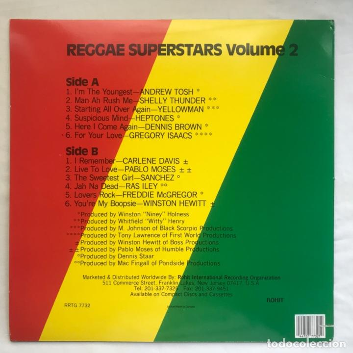 Discos de vinilo: Reggae Superstars Volume 2 - Foto 2 - 206993178