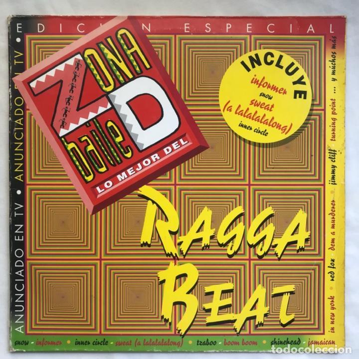 ZONA D BAILE LO MEJOR DEL RAGGA BEAT 2LPS BUENISIMO EPECIAL PARA DJ (Música - Discos - LP Vinilo - Reggae - Ska)