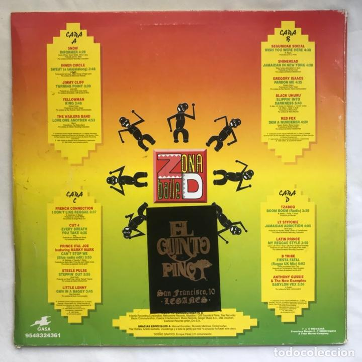 Discos de vinilo: Zona D Baile Lo Mejor Del Ragga Beat 2LPs BUENISIMO EPECIAL PARA DJ - Foto 2 - 206993837