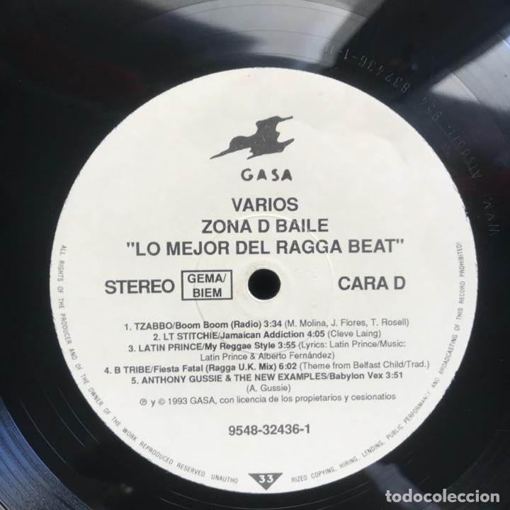 Discos de vinilo: Zona D Baile Lo Mejor Del Ragga Beat 2LPs BUENISIMO EPECIAL PARA DJ - Foto 3 - 206993837