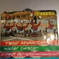 Discos de vinilo: THE ROCKING BOYS. TWIST SENSACIONAL. EP. Lote 206994602