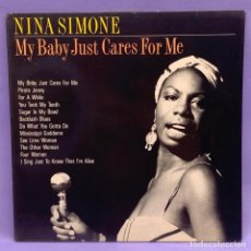 Discos de vinilo: LP NINA SIMONE - MY BABYU JUST CARES FOR ME - MADE IN HOLLAND. Lote 206995917