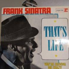 Discos de vinilo: FRANK SINATRA. THAT'S LIFE . EP. Lote 218357465