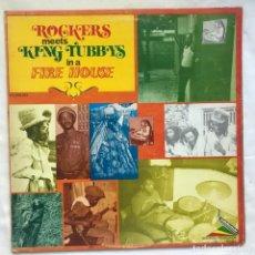 Discos de vinilo: AGUSTUS PABLO , ROCKERS ALL STARS ROCKERS MEETS KING TUBBYS IN A FIRE. Lote 206997063
