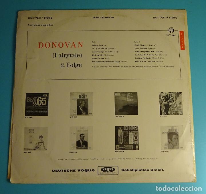 Discos de vinilo: DONOVAN. FAIRYTALE 2. FOLGE. EDICIÓN ALEMANA - Foto 2 - 206999448