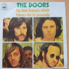 Discos de vinilo: DOORS - TU ME HACES VIVIR (SG) 1970. Lote 207000008