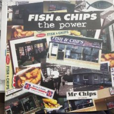 "Discos de vinilo: FISH & CHIPS (5) - THE POWER (12"") SELLO:909 RECORDS CAT. Nº: 909 MX 002. COMO NUEVO . ITALO DANCE. Lote 207001917"