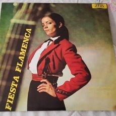 Discos de vinilo: FIESTA FLAMENCA - AMALIA ROMÁN / PEPE DE ALMERÍA - LP. DEL SELLO DIM RECORD DE 1968. Lote 207002001