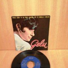 Discos de vinilo: GELU. PIEDAD SEÑOR, TU NO TIENES CORAZÓN, ETC. EP 1964.. Lote 207002220