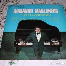 Discos de vinilo: LP ARMANDO MANZANERO Y SUS CANCIONES RCA EDICIÓN ESPAÑOLA. Lote 207002447