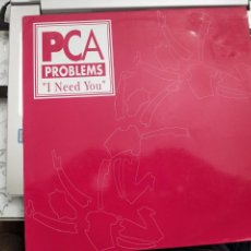 "Discos de vinilo: PCA PROBLEMS - I NEED YOU (12"") 1993.SELLO:LUCAS RECORDS CAT. Nº: NEED 10. COMO NUEVO. Lote 207002843"