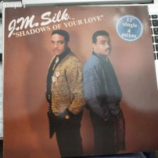 "Discos de vinilo: J.M. SILK - SHADOWS OF YOUR LOVE (12"")1986. SELLO:RUSH RECORDS, RUSH RECORDS Nº: 608 270, 608 270-21. Lote 207003620"