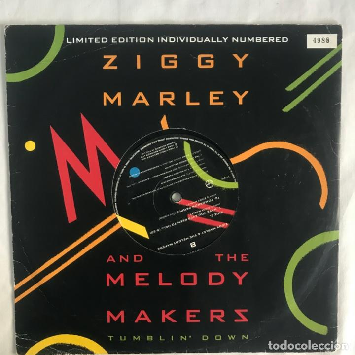 Discos de vinilo: Ziggy Marley And The Melody Makers Tumblin Down LIMITE EDITTION - Foto 2 - 207004055