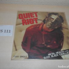 Discos de vinilo: DISCOS - QUIET RIOT - MAXI SINGLE - METAL HEALTH (LIVE). Lote 207004281