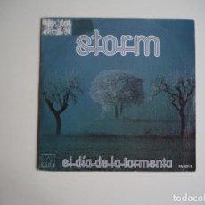 Discos de vinilo: STORM EL DÍA DE LA TORMENTA (ALBA PA 6018 . 1979) ROCK PROGRESIVO HARD ROCK. Lote 207004837