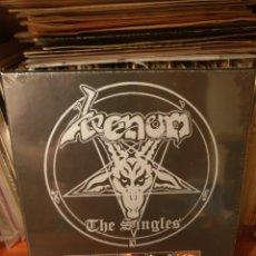 Discos de vinilo: VENOM / THE SINGLES / BACK ON BLACK 2018. Lote 207006186